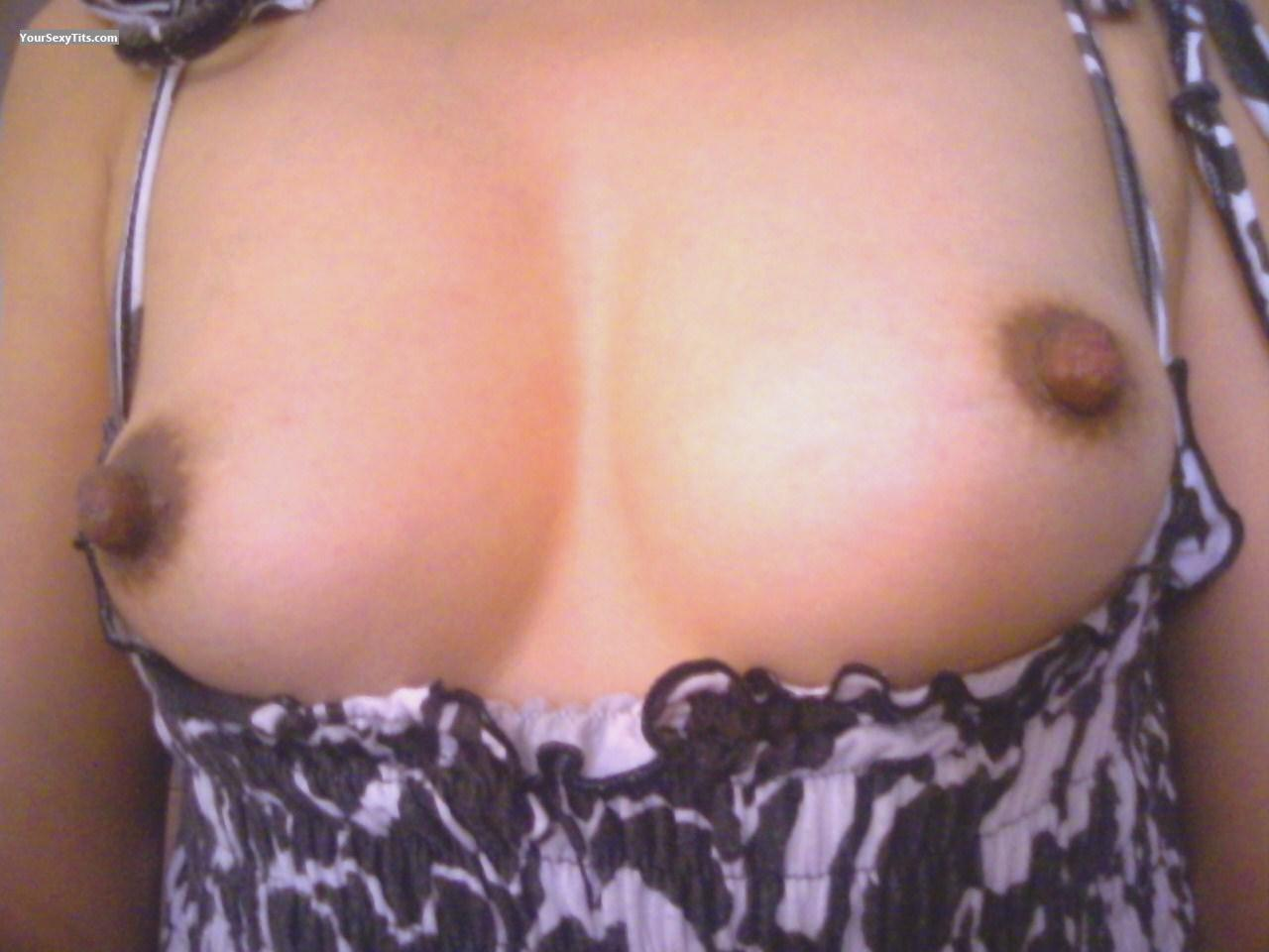 My Small Tits Selfie by Tat